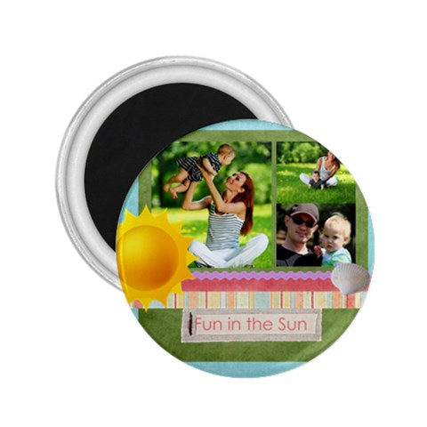 Summer By Summer Time    2 25  Magnet   Wzar441loir5   Www Artscow Com Front