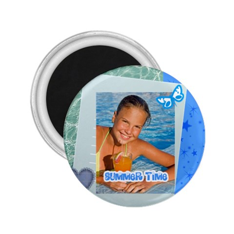 Summer By Summer Time    2 25  Magnet   Lhm3f5y9zuu4   Www Artscow Com Front