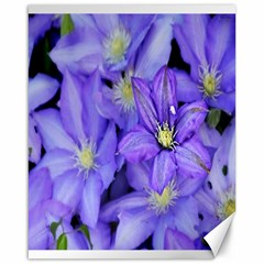 Purple Wildflowers For Fms Canvas 16  X 20  (unframed) by FunWithFibro