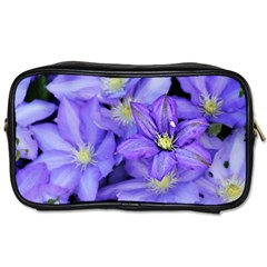 Purple Wildflowers For Fms Travel Toiletry Bag (two Sides) by FunWithFibro