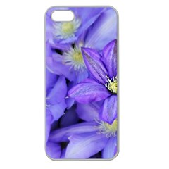 Purple Wildflowers For Fms Apple Seamless Iphone 5 Case (clear) by FunWithFibro
