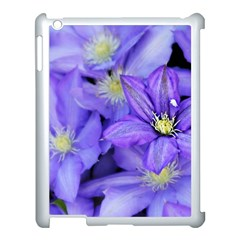 Purple Wildflowers For Fms Apple Ipad 3/4 Case (white) by FunWithFibro
