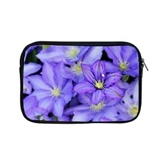 Purple Wildflowers For Fms Apple Ipad Mini Zippered Sleeve by FunWithFibro