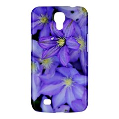 Purple Wildflowers For Fms Samsung Galaxy Mega 6 3  I9200 Hardshell Case by FunWithFibro