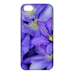 Purple Wildflowers For Fms Apple Iphone 5c Hardshell Case by FunWithFibro