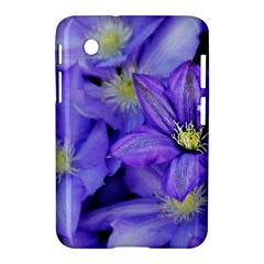 Purple Wildflowers For Fms Samsung Galaxy Tab 2 (7 ) P3100 Hardshell Case  by FunWithFibro