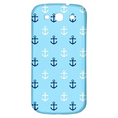 Anchors In Blue And White Samsung Galaxy S3 S Iii Classic Hardshell Back Case by StuffOrSomething