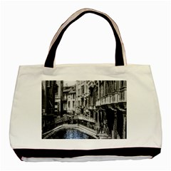 Vintage Venice Canal Classic Tote Bag by bloomingvinedesign