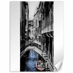 Vintage Venice Canal Canvas 36  X 48  (unframed) by bloomingvinedesign