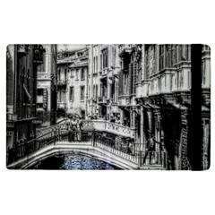 Vintage Venice Canal Apple Ipad 2 Flip Case by bloomingvinedesign