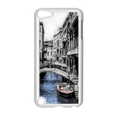 Vintage Venice Canal Apple Ipod Touch 5 Case (white) by bloomingvinedesign