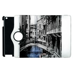 Vintage Venice Canal Apple Ipad 2 Flip 360 Case by bloomingvinedesign