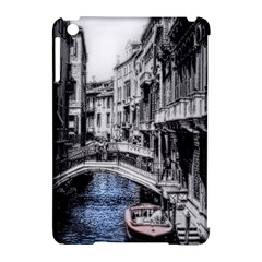 Vintage Venice Canal Apple Ipad Mini Hardshell Case (compatible With Smart Cover) by bloomingvinedesign