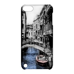 Vintage Venice Canal Apple Ipod Touch 5 Hardshell Case With Stand by bloomingvinedesign