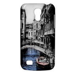 Vintage Venice Canal Samsung Galaxy S4 Mini (gt I9190) Hardshell Case  by bloomingvinedesign