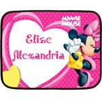 Elise Alexandria - Fleece Blanket (Mini)