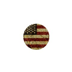 Vinatge American Roots 1  Mini Button Magnet by dflcprints