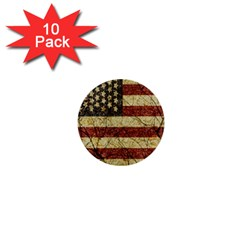 Vinatge American Roots 1  Mini Button (10 Pack) by dflcprints