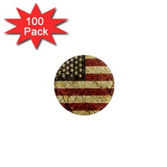 Vinatge American Roots 1  Mini Button Magnet (100 Pack) by dflcprints