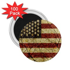 Vinatge American Roots 2 25  Button Magnet (100 Pack) by dflcprints