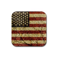 Vinatge American Roots Drink Coasters 4 Pack (square) by dflcprints