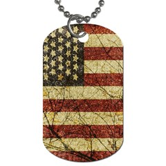 Vinatge American Roots Dog Tag (one Sided) by dflcprints
