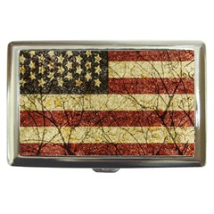 Vinatge American Roots Cigarette Money Case by dflcprints