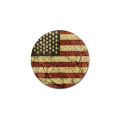 Vinatge American Roots Golf Ball Marker 4 Pack by dflcprints