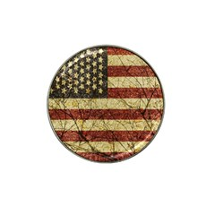 Vinatge American Roots Golf Ball Marker 4 Pack (for Hat Clip) by dflcprints
