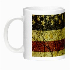 Vinatge American Roots Glow In The Dark Mug by dflcprints