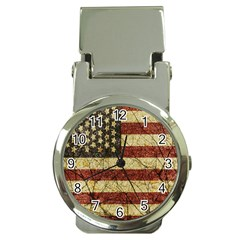 Vinatge American Roots Money Clip With Watch by dflcprints