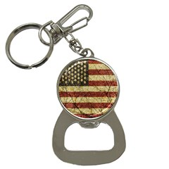 Vinatge American Roots Bottle Opener Key Chain by dflcprints