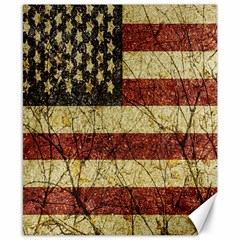 Vinatge American Roots Canvas 8  x 10  (Unframed) by dflcprints