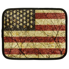 Vinatge American Roots Netbook Sleeve (large) by dflcprints