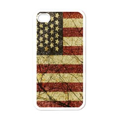 Vinatge American Roots Apple Iphone 4 Case (white) by dflcprints