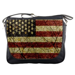 Vinatge American Roots Messenger Bag by dflcprints