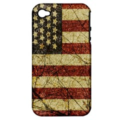 Vinatge American Roots Apple Iphone 4/4s Hardshell Case (pc+silicone) by dflcprints