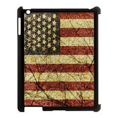 Vinatge American Roots Apple Ipad 3/4 Case (black) by dflcprints