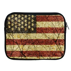 Vinatge American Roots Apple Ipad Zippered Sleeve by dflcprints