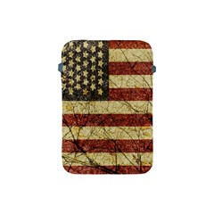 Vinatge American Roots Apple Ipad Mini Protective Sleeve by dflcprints