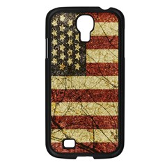 Vinatge American Roots Samsung Galaxy S4 I9500/ I9505 Case (black) by dflcprints