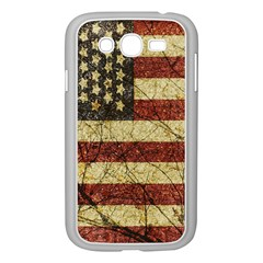 Vinatge American Roots Samsung Galaxy Grand Duos I9082 Case (white) by dflcprints