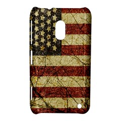 Vinatge American Roots Nokia Lumia 620 Hardshell Case by dflcprints