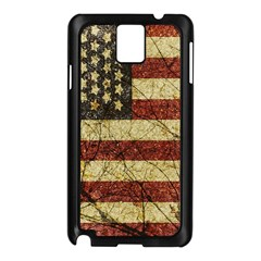 Vinatge American Roots Samsung Galaxy Note 3 N9005 Case (black)