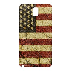 Vinatge American Roots Samsung Galaxy Note 3 N9005 Hardshell Back Case by dflcprints