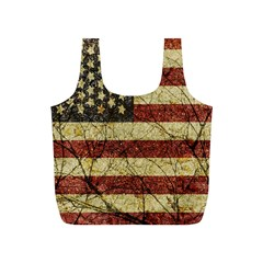 Vinatge American Roots Reusable Bag (s) by dflcprints