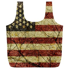 Vinatge American Roots Reusable Bag (xl) by dflcprints