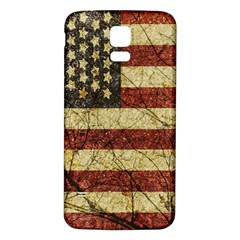 Vinatge American Roots Samsung Galaxy S5 Back Case (white) by dflcprints
