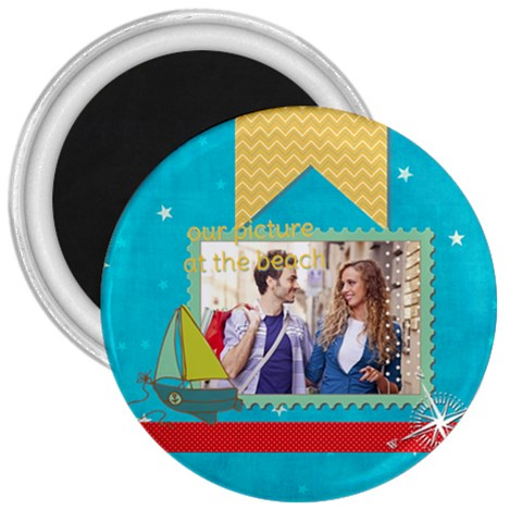 Summer By Summer Time    3  Magnet   Zh21z6fxriqu   Www Artscow Com Front