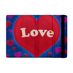 Love Theme Concept  Illustration Motif  Apple Ipad Mini Flip Case by dflcprints